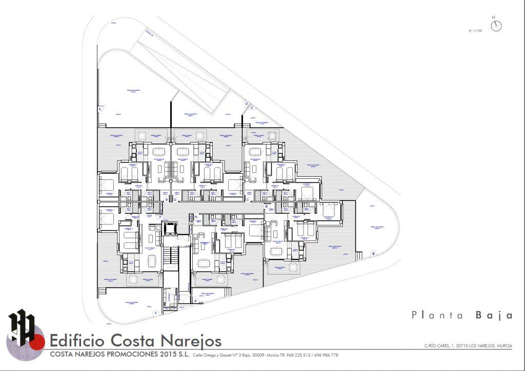 Planos viviendas costa narejos - Planos de casas de planta baja ...